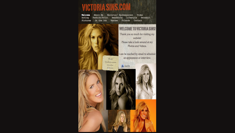 Previous Victoria Ann Sins WebSite