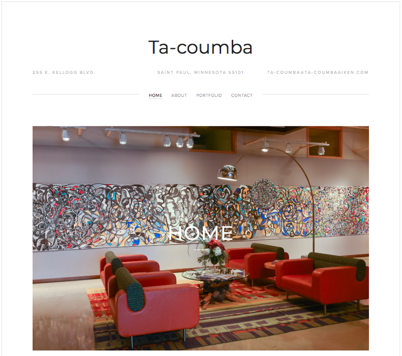 Ta–coumba Aiken WebSite