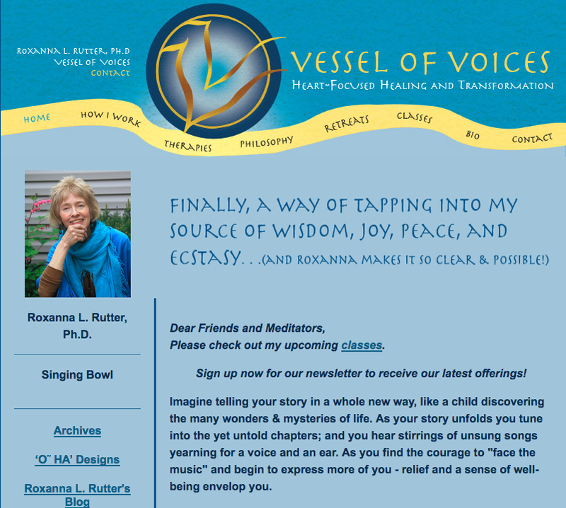 Vessel of Voices WebSite