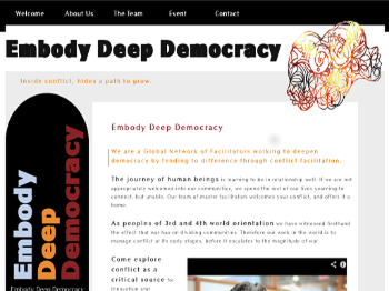 Embody Deep Democracy WebSite