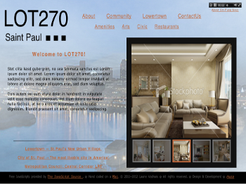LOT270 WebSite