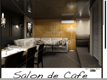Salon de Cafe Landing Page for Demo WebSite